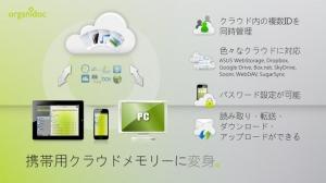 iPhone、iPadアプリ「携帯USBメモリ - OrganiDoc」のスクリーンショット 3枚目