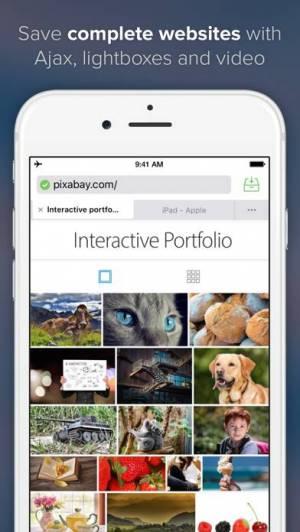 iPhone、iPadアプリ「Offline Pages Pro」のスクリーンショット 1枚目