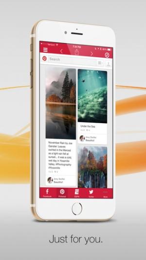 iPhone、iPadアプリ「Facely HD Facebook対応版 + ソーシャルアプリブラウザ」のスクリーンショット 4枚目