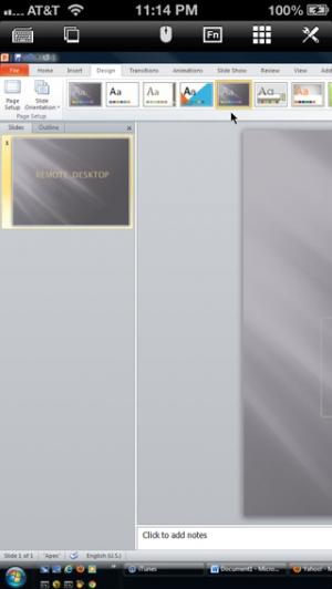 iPhone、iPadアプリ「無料のリモートデスクトップ」のスクリーンショット 5枚目