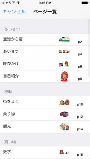 iPhone、iPadアプリ「指さし会話イタリア touch&talk 【personal version】」のスクリーンショット 4枚目