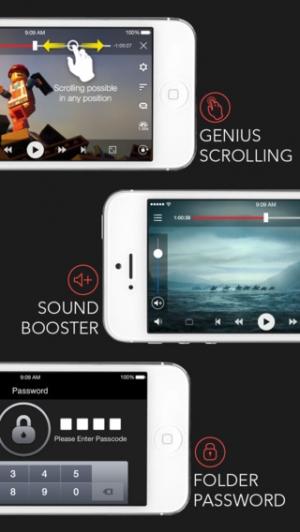 iPhone、iPadアプリ「AVPlayer (無エンコード 字幕 再生速度調節)」のスクリーンショット 5枚目