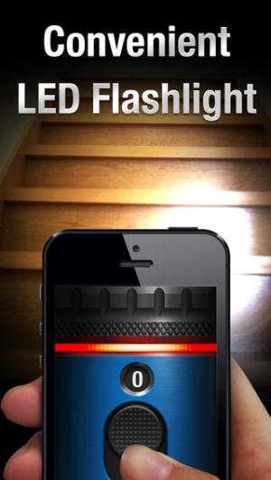 iPhone、iPadアプリ「懐中電灯 ∞」のスクリーンショット 3枚目