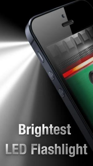 iPhone、iPadアプリ「懐中電灯 ∞」のスクリーンショット 1枚目