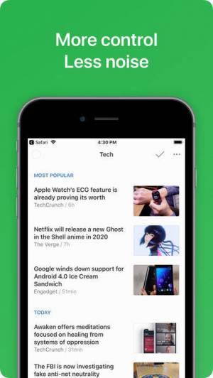 iPhone、iPadアプリ「Feedly - Smart News Reader」のスクリーンショット 3枚目