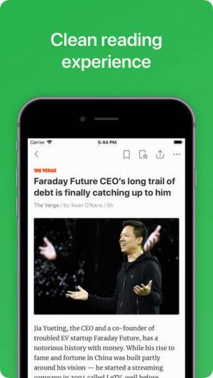 iPhone、iPadアプリ「Feedly - Smart News Reader」のスクリーンショット 4枚目
