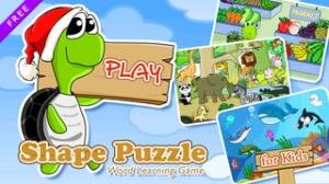 iPhone、iPadアプリ「英語を学べる子どもパズルゲーム - 無料」のスクリーンショット 1枚目