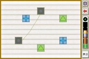 iPhone、iPadアプリ「京大生東田大志が考えたパズル ひらめき絵結び Lite」のスクリーンショット 4枚目