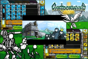iPhone、iPadアプリ「Cartoon Wars 2: Heroes」のスクリーンショット 1枚目