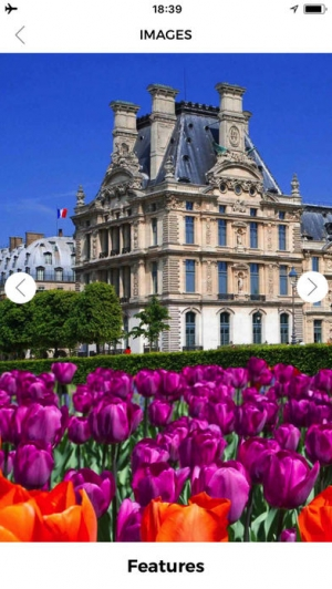 iPhone、iPadアプリ「パリ旅行ガイド フランス」のスクリーンショット 2枚目