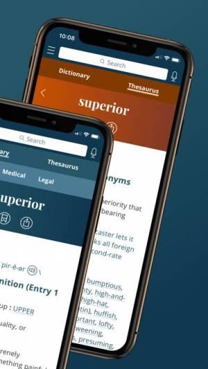 iPhone、iPadアプリ「Merriam-Webster Dictionary」のスクリーンショット 2枚目