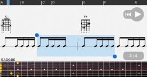 iPhone、iPadアプリ「Guitar Pro」のスクリーンショット 3枚目