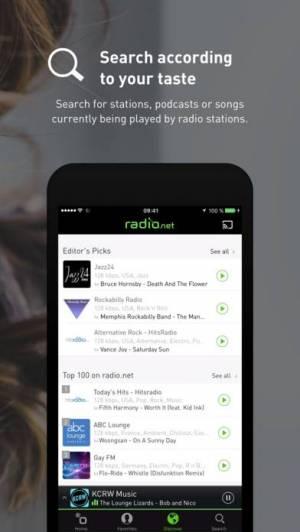iPhone、iPadアプリ「radio.net」のスクリーンショット 5枚目