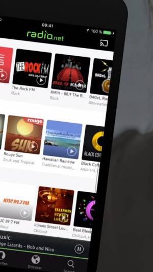 iPhone、iPadアプリ「radio.net」のスクリーンショット 2枚目