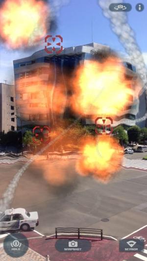 iPhone、iPadアプリ「AR Missile - Auto Tracking」のスクリーンショット 2枚目