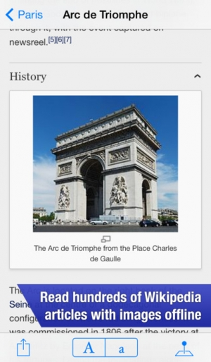 iPhone、iPadアプリ「OffMaps 2 - Offline Maps for Paris, London, Berlin, New York ...」のスクリーンショット 5枚目