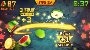 iPhone、iPadアプリ「Fruit Ninja®」のスクリーンショット 1枚目