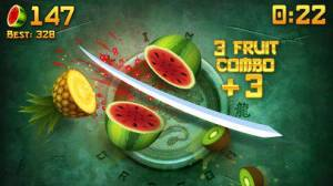 iPhone、iPadアプリ「Fruit Ninja®」のスクリーンショット 2枚目
