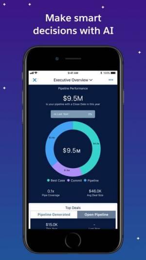 iPhone、iPadアプリ「Salesforce」のスクリーンショット 1枚目