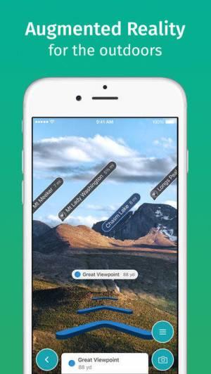 iPhone、iPadアプリ「ViewRanger」のスクリーンショット 3枚目