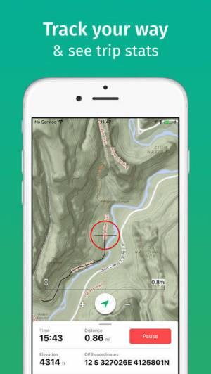 iPhone、iPadアプリ「ViewRanger」のスクリーンショット 4枚目
