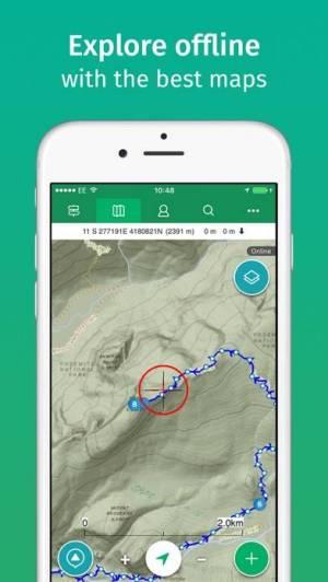 iPhone、iPadアプリ「ViewRanger」のスクリーンショット 2枚目