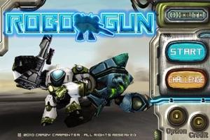 iPhone、iPadアプリ「RobotNGun」のスクリーンショット 1枚目