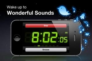 iPhone、iPadアプリ「アラームクロック クラシック」のスクリーンショット 3枚目