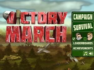 iPhone、iPadアプリ「Victory March HD」のスクリーンショット 1枚目