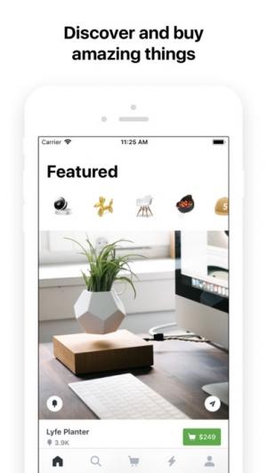 iPhone、iPadアプリ「Fancy」のスクリーンショット 1枚目
