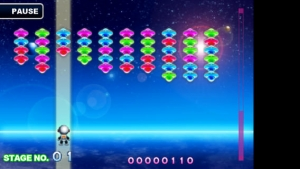 iPhone、iPadアプリ「blocking UFO」のスクリーンショット 2枚目