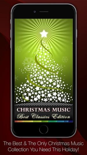 iPhone、iPadアプリ「クリスマス音楽: マスターコレクション、歌詞付き」のスクリーンショット 1枚目