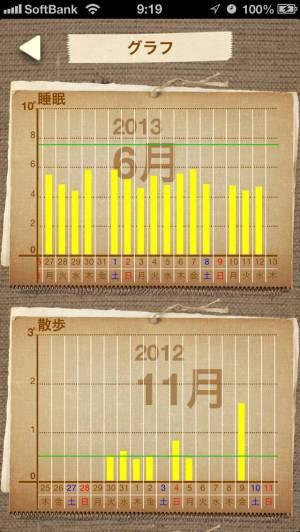 iPhone、iPadアプリ「時間ノート〜 time time」のスクリーンショット 3枚目