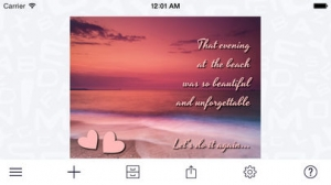 iPhone、iPadアプリ「A+ Signature - The photo annotator」のスクリーンショット 5枚目