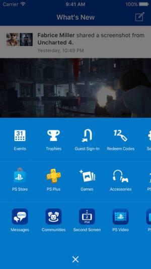 iPhone、iPadアプリ「PlayStation App」のスクリーンショット 4枚目