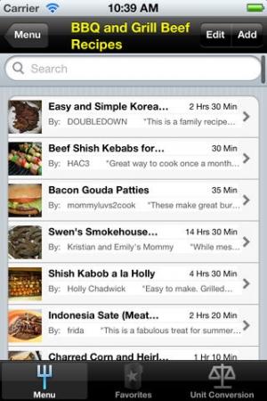 iPhone、iPadアプリ「BBQ」のスクリーンショット 2枚目