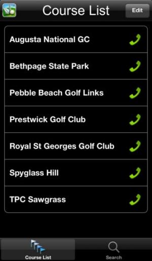 iPhone、iPadアプリ「SkyDroid - Golf GPS」のスクリーンショット 3枚目