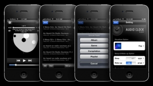 iPhone、iPadアプリ「Audio Clock」のスクリーンショット 4枚目