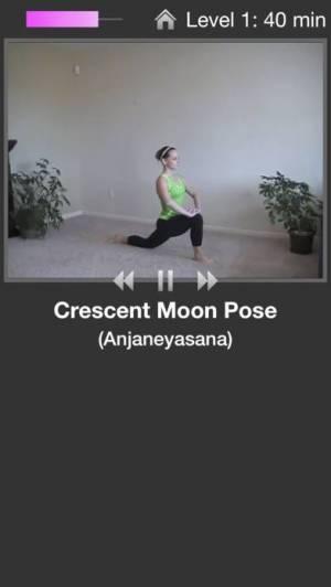 iPhone、iPadアプリ「Simply Yoga - Fitness Trainer」のスクリーンショット 2枚目