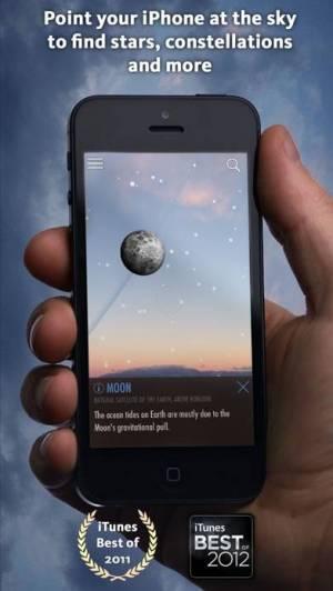 iPhone、iPadアプリ「SkyView® Lite」のスクリーンショット 1枚目