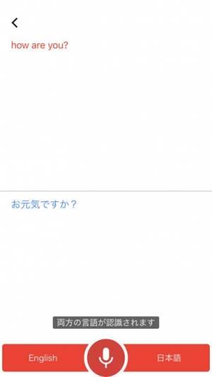 iPhone、iPadアプリ「Google 翻訳」のスクリーンショット 3枚目