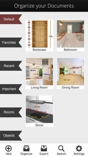 iPhone、iPadアプリ「Photo Measures」のスクリーンショット 4枚目
