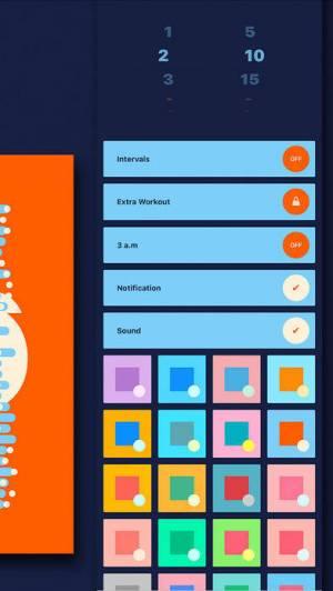 iPhone、iPadアプリ「365日 腹筋アプリ|続く筋トレ」のスクリーンショット 3枚目