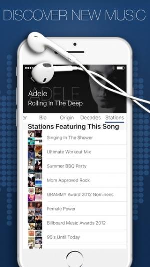 iPhone、iPadアプリ「Jango Radio Mobile」のスクリーンショット 2枚目