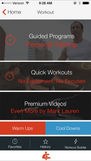 iPhone、iPadアプリ「Bodyweight Training: You Are Your Own Gym」のスクリーンショット 2枚目