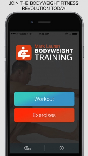 iPhone、iPadアプリ「Bodyweight Training: You Are Your Own Gym」のスクリーンショット 1枚目