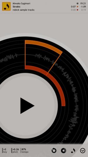 iPhone、iPadアプリ「robick - 耳コピ用プレイヤー」のスクリーンショット 2枚目