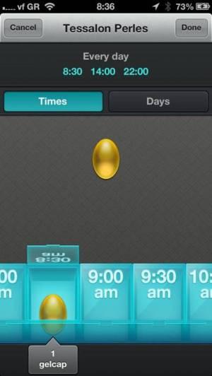 iPhone、iPadアプリ「Pillboxie」のスクリーンショット 1枚目