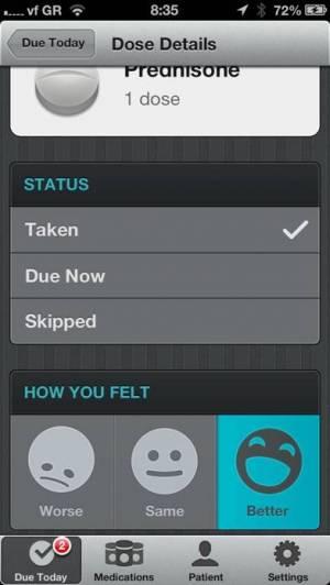 iPhone、iPadアプリ「Pillboxie」のスクリーンショット 4枚目