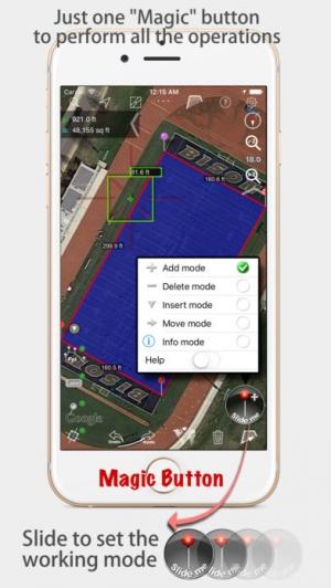 iPhone、iPadアプリ「地図計測」のスクリーンショット 2枚目
